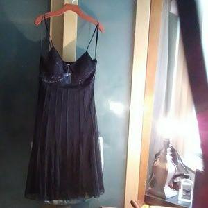 Beautiful sexy black sheer dress
